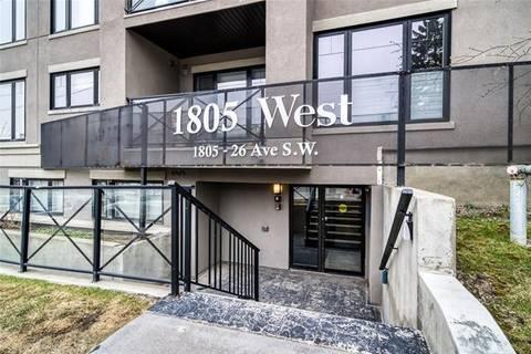 Condo for sale at 1805 26 Ave Southwest Unit 307 Calgary Alberta - MLS: C4295792