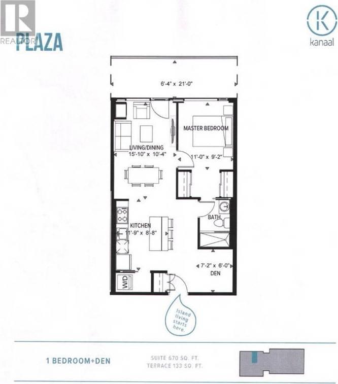 Apartment for rent at 320 Miwate Pt Unit 307 Ottawa Ontario - MLS: 1178453