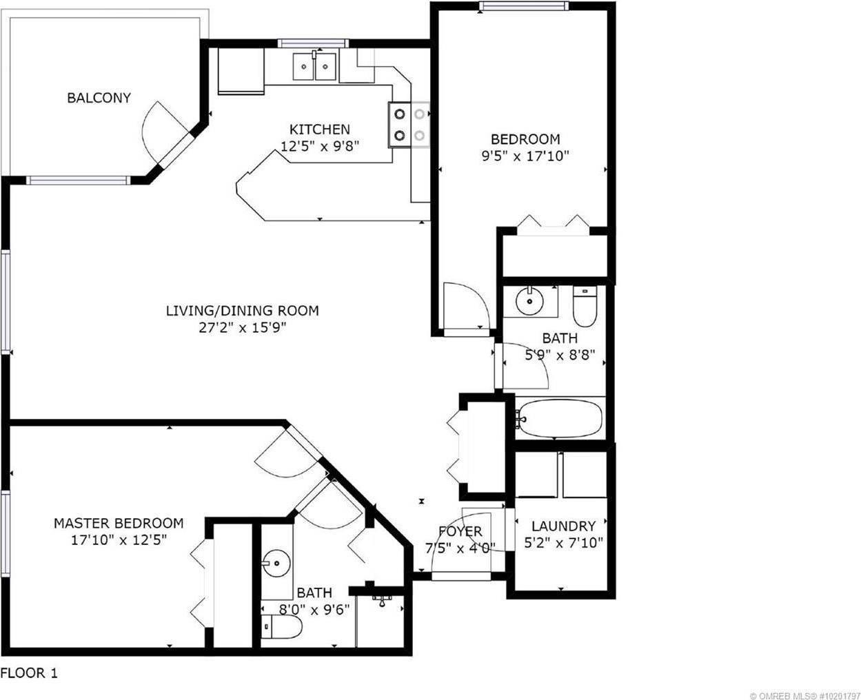 Condo for sale at 345 Mills Rd Unit 307 Kelowna British Columbia - MLS: 10201797