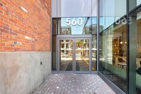Condo for sale at 560 King St Unit 307 Toronto Ontario - MLS: C4520671