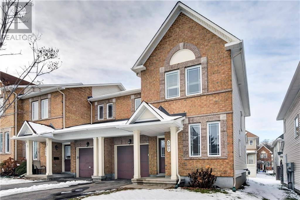 Townhouse for sale at 307 Bakewell Cres Ottawa Ontario - MLS: 1175602