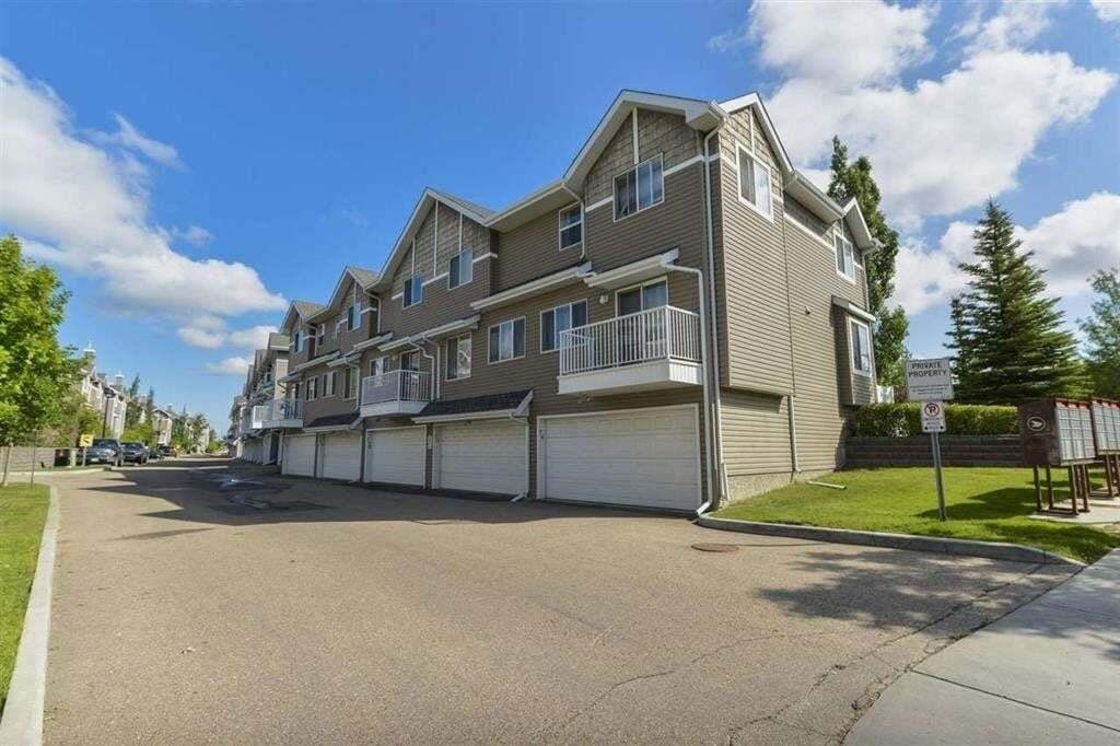 Townhouse for sale at 3075 Trelle Cr NW Edmonton Alberta - MLS: E4204603