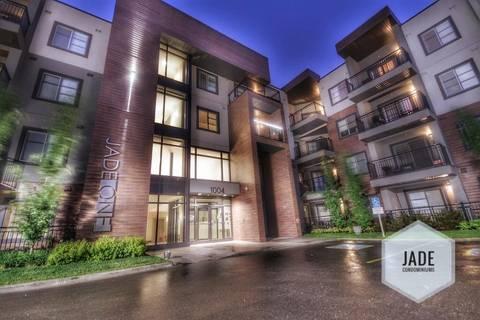 Condo for sale at 1004 Rosenthal Blvd Nw Unit 308 Edmonton Alberta - MLS: E4156264