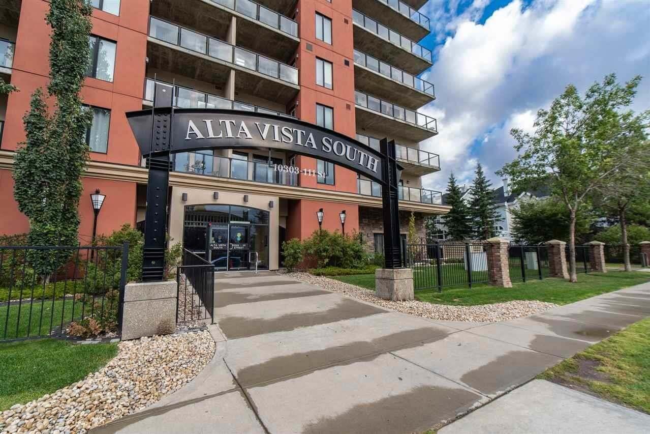 Condo for sale at 10303 111 St NW Unit 308 Edmonton Alberta - MLS: E4214038