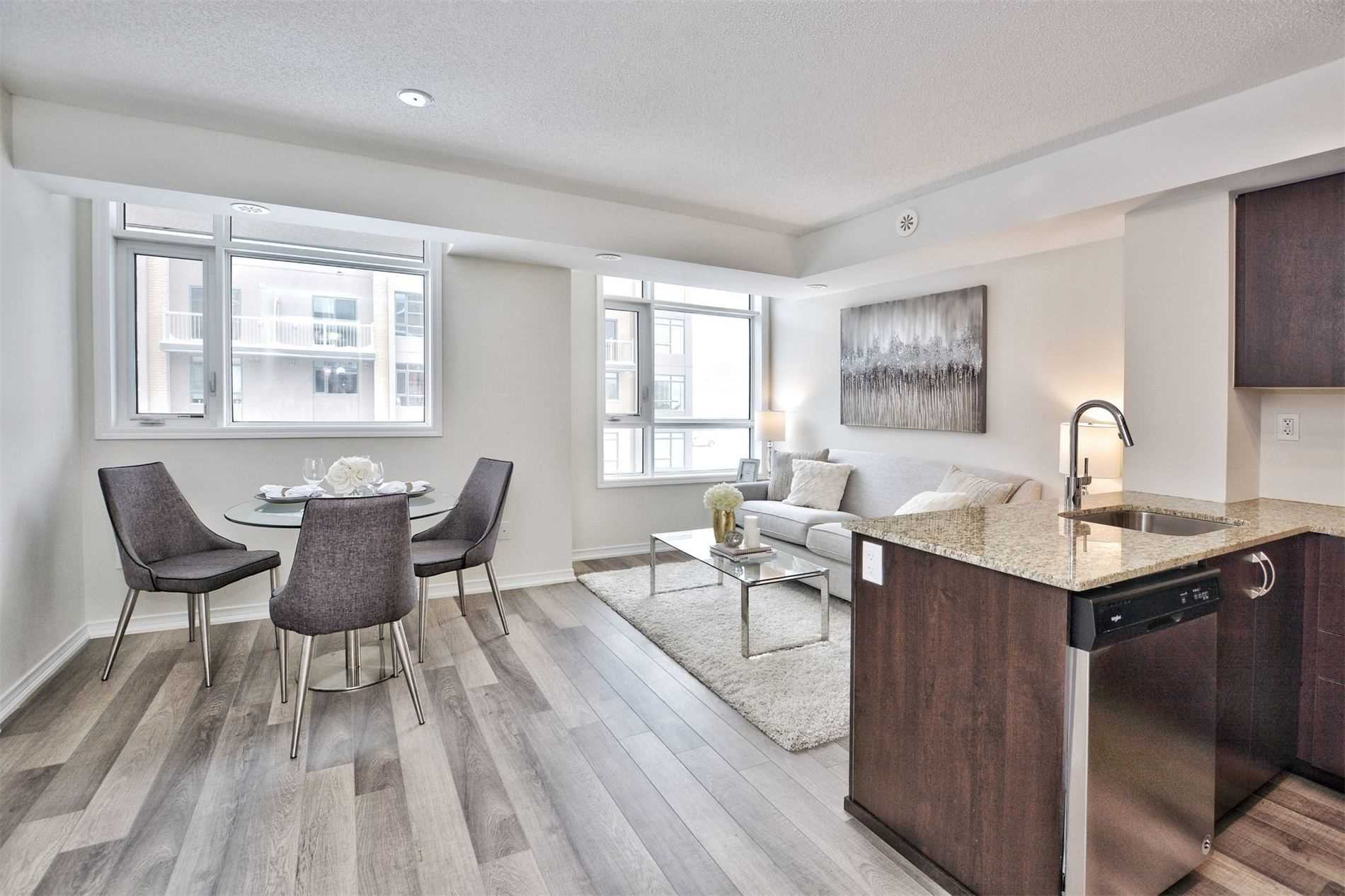 For Sale: 308 - 1070 Progress Avenue, Toronto, ON | 2 Bed, 2 Bath Townhouse for $479900.00. See 18 photos!