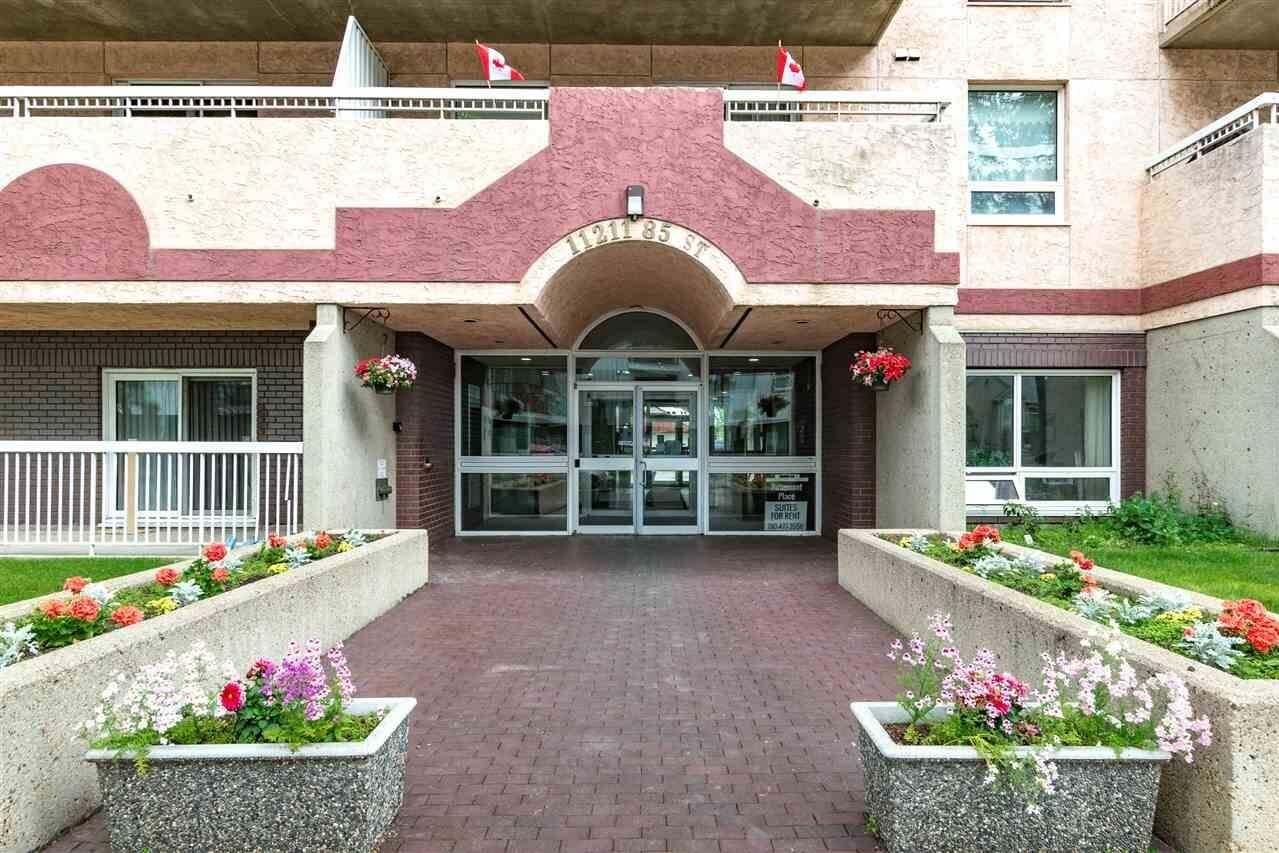 Condo for sale at 11211 85 St NW Unit 308 Edmonton Alberta - MLS: E4204463