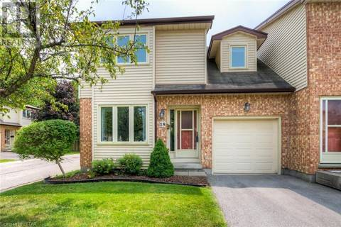 Townhouse for sale at 18 Conway Dr Unit 308 London Ontario - MLS: 208318