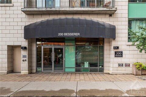 Condo for sale at 200 Besserer St Unit 308 Ottawa Ontario - MLS: 1213436