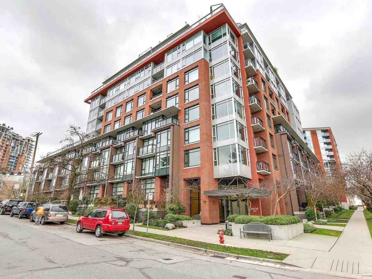 For Sale: 308 - 2321 Scotia Street, Vancouver, BC   1 Bed, 1 Bath Condo for $728,888. See 16 photos!