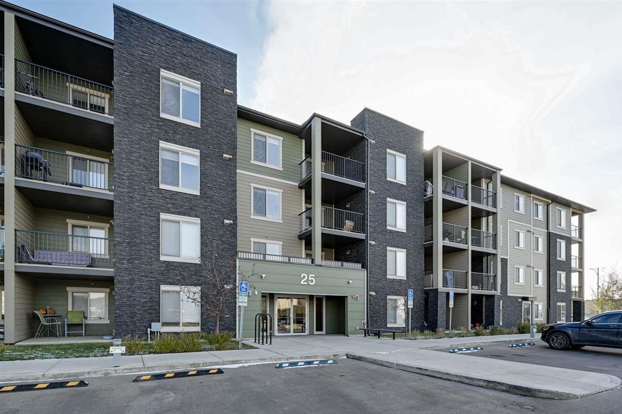 Condo for sale at 25 Element Dr N Unit 308 St. Albert Alberta - MLS: E4219017