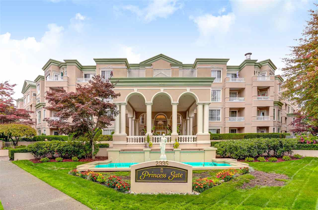 For Sale: 308 - 2995 Princess Crescent, Coquitlam, BC | 1 Bed, 1 Bath Condo for $395,000. See 20 photos!