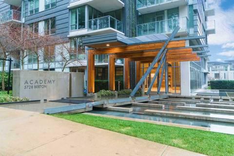 Condo for sale at 5728 Berton Ave Unit 308 Vancouver British Columbia - MLS: R2370956