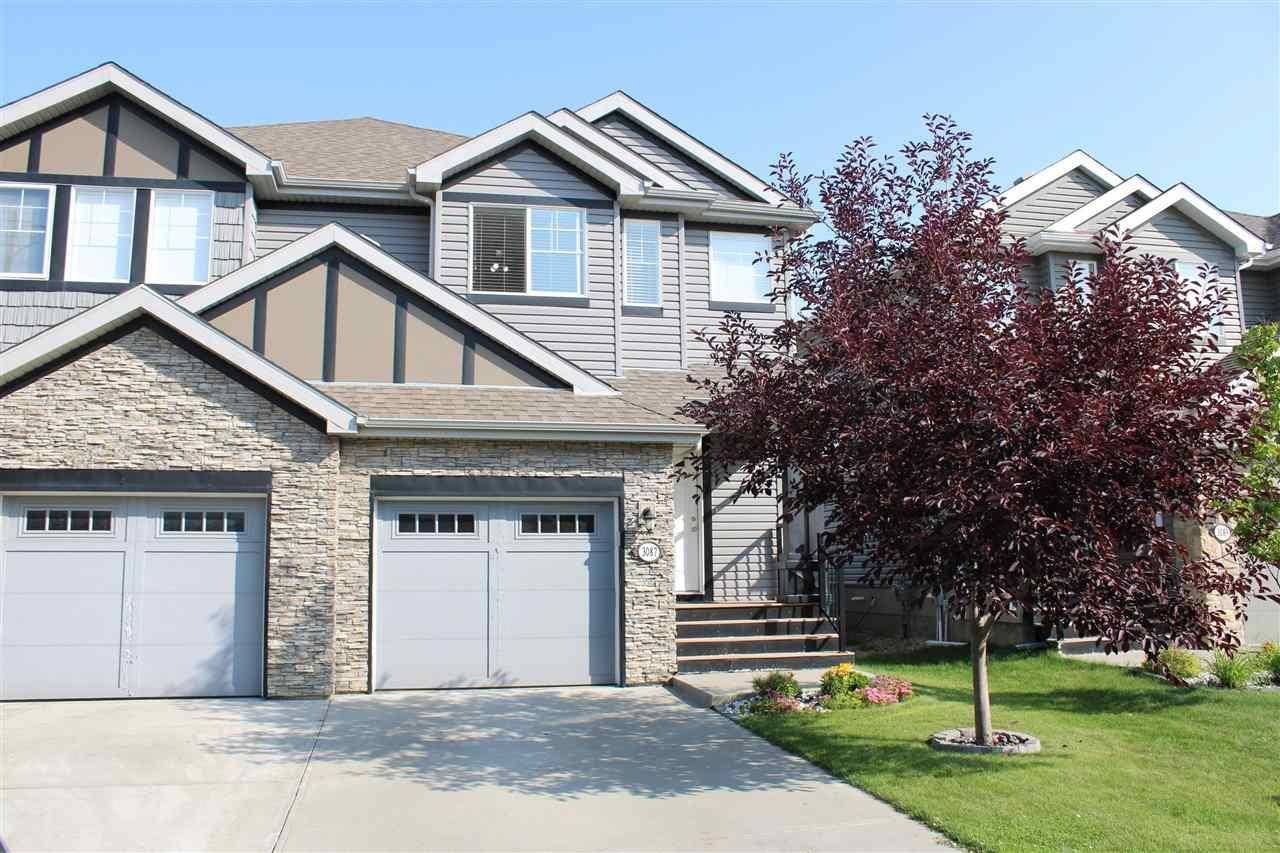 Townhouse for sale at 3087 Whitelaw Dr Nw Edmonton Alberta - MLS: E4168743