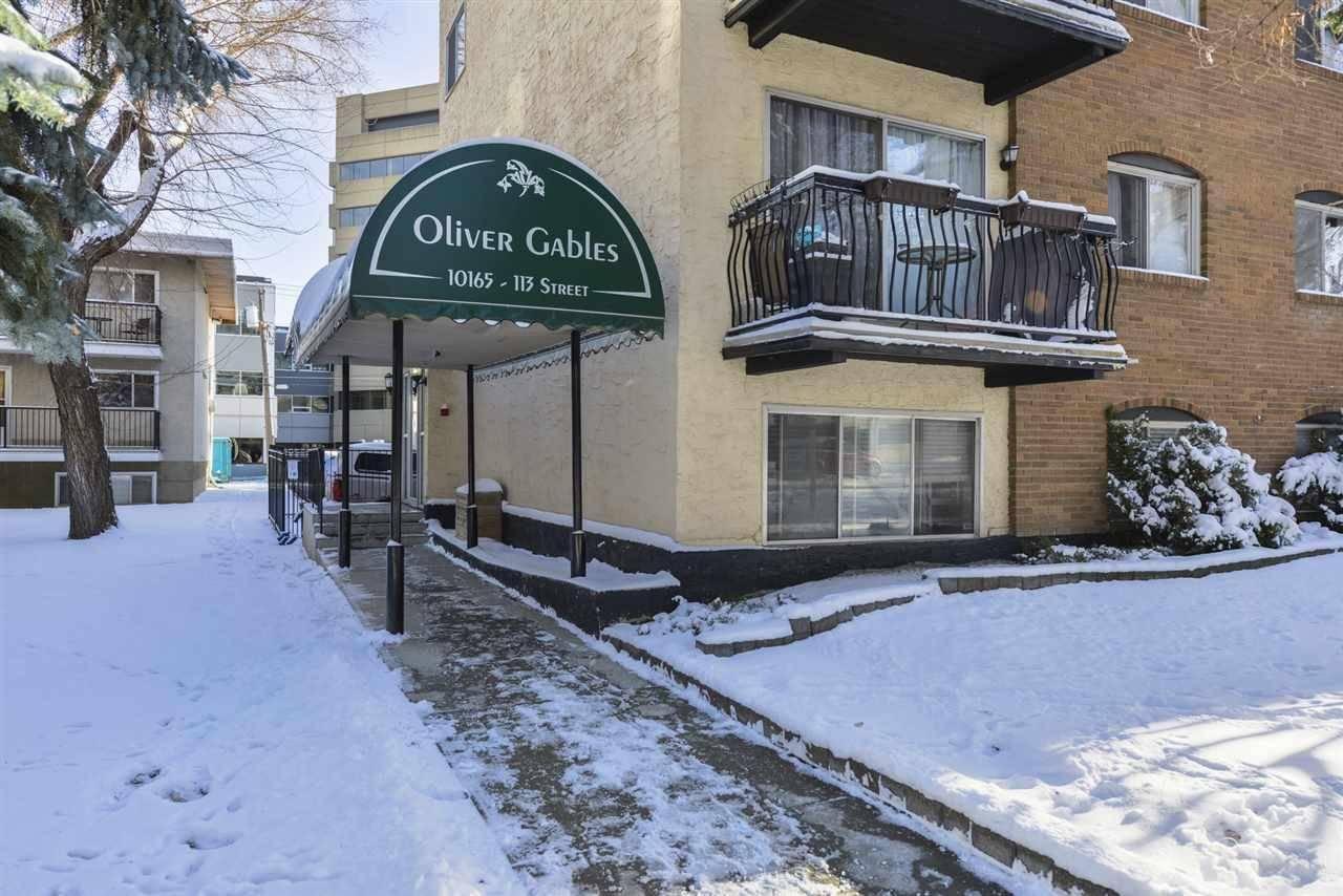 Condo for sale at 10165 113 St Nw Unit 309 Edmonton Alberta - MLS: E4179634