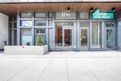 Condo for sale at 106 Dovercourt Rd Unit 309 Toronto Ontario - MLS: C4460162