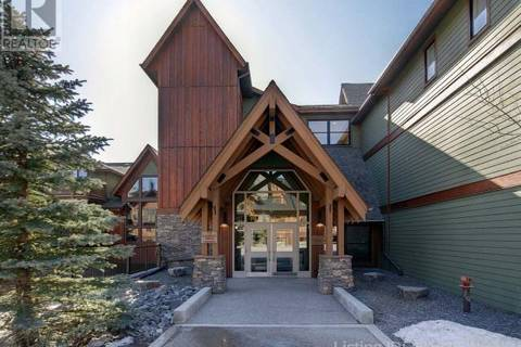 Condo for sale at 106 Stewart Creek Landng Unit 309 Canmore Alberta - MLS: 49182