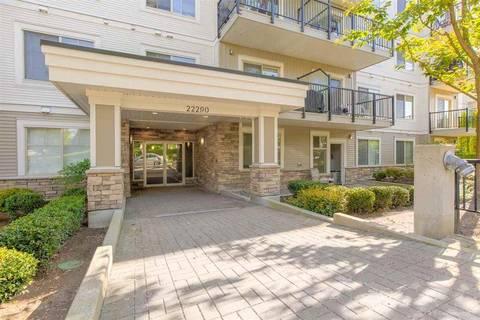 Condo for sale at 22290 North Ave Unit 309 Maple Ridge British Columbia - MLS: R2381855