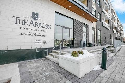 Condo for sale at 555 William Graham Dr Unit 309 Aurora Ontario - MLS: N4680761