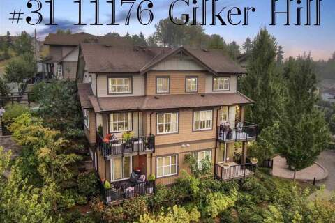 Townhouse for sale at 11176 Gilker Hill Rd Unit 31 Maple Ridge British Columbia - MLS: R2501514