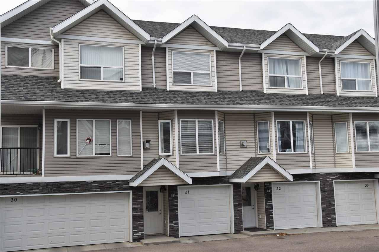 Townhouse for sale at 13215 153 Ave Nw Unit 31 Edmonton Alberta - MLS: E4176127