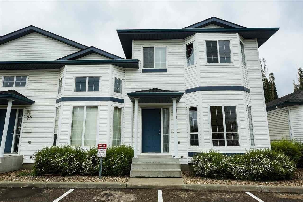 Townhouse for sale at 16728 115 St NW Unit 31 Edmonton Alberta - MLS: E4205929