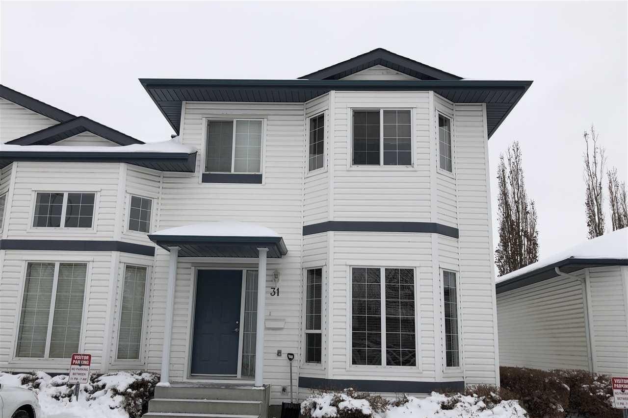Townhouse for sale at 16728 115 St NW Unit 31 Edmonton Alberta - MLS: E4220289