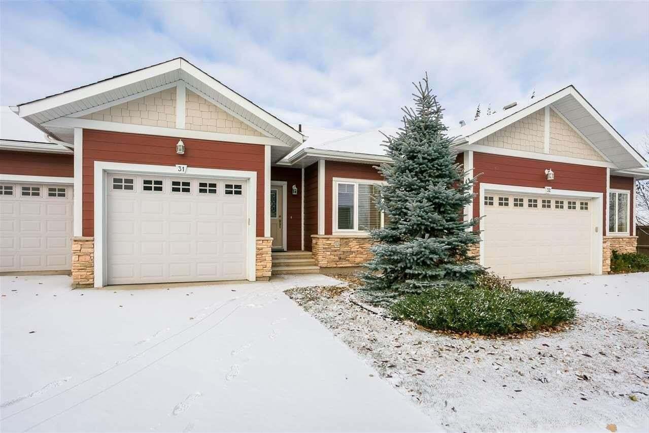 Townhouse for sale at 175 Mcconachie Dr NW Unit 31 Edmonton Alberta - MLS: E4218669