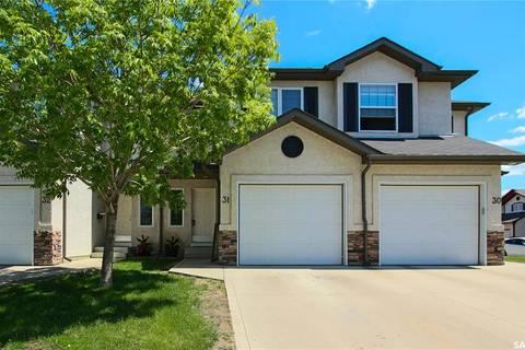 Townhouse for sale at 3101 Tregarva Dr E Unit 31 Regina Saskatchewan - MLS: SK776745