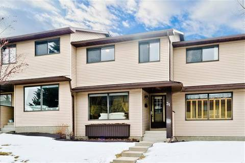 Townhouse for sale at 380 Bermuda Dr Northwest Unit 31 Calgary Alberta - MLS: C4289223