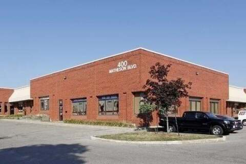 Commercial property for lease at 400 Matheson Blvd Apartment 31 Mississauga Ontario - MLS: W4845771