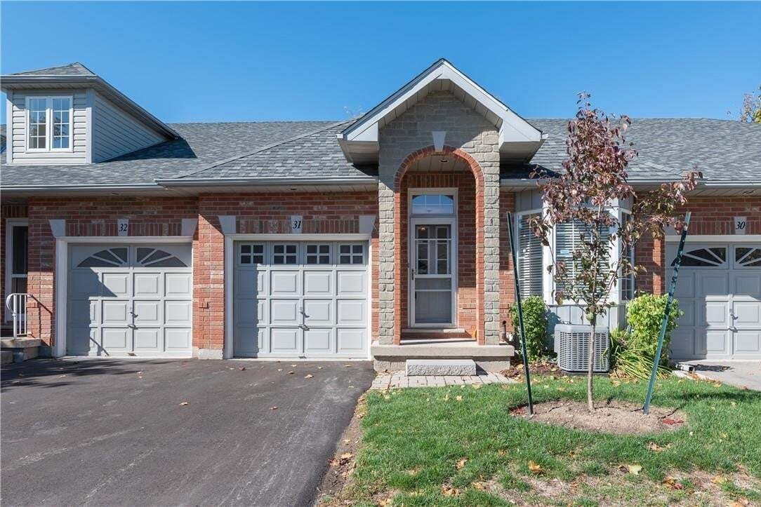 Townhouse for sale at 47 Main St N Unit 31 Waterdown Ontario - MLS: H4090783