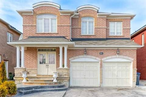 House for sale at 31 Alice Springs Cres Brampton Ontario - MLS: W4722812