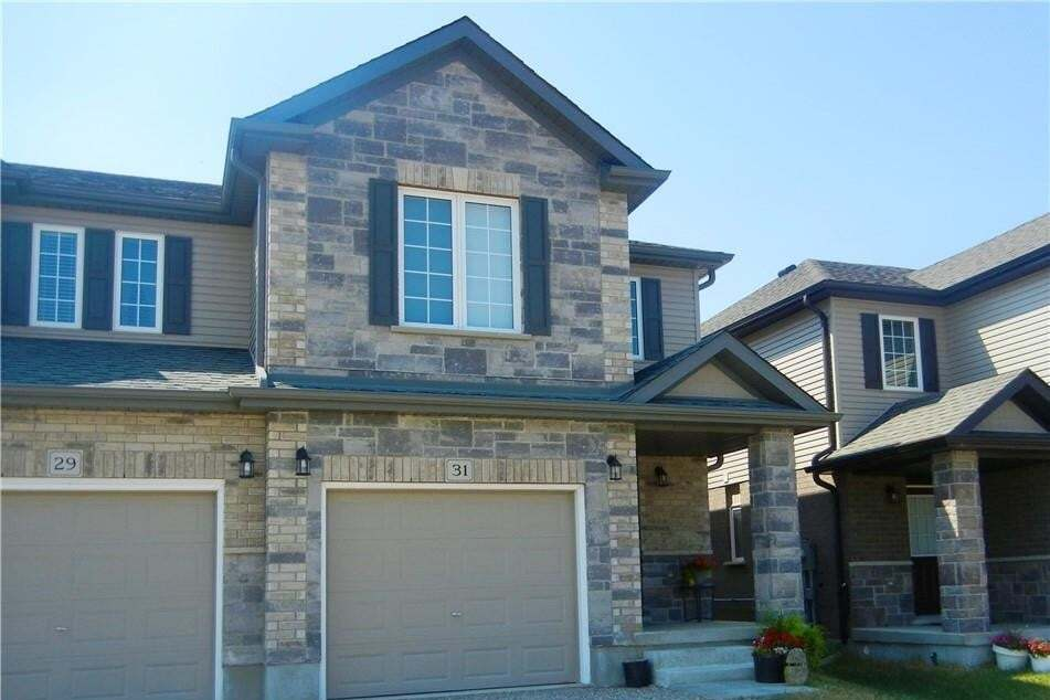 Townhouse for sale at 31 Arlington Pw Paris Ontario - MLS: H4081883