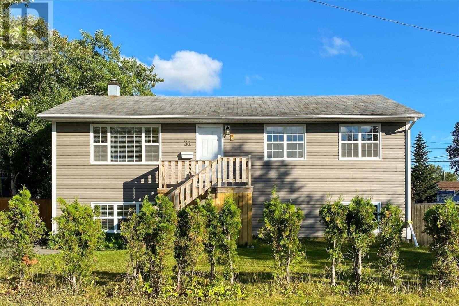 House for sale at 31 Bishop St Gander Newfoundland - MLS: 1219302