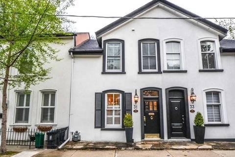Townhouse for sale at 31 Bishop St Toronto Ontario - MLS: C4517345