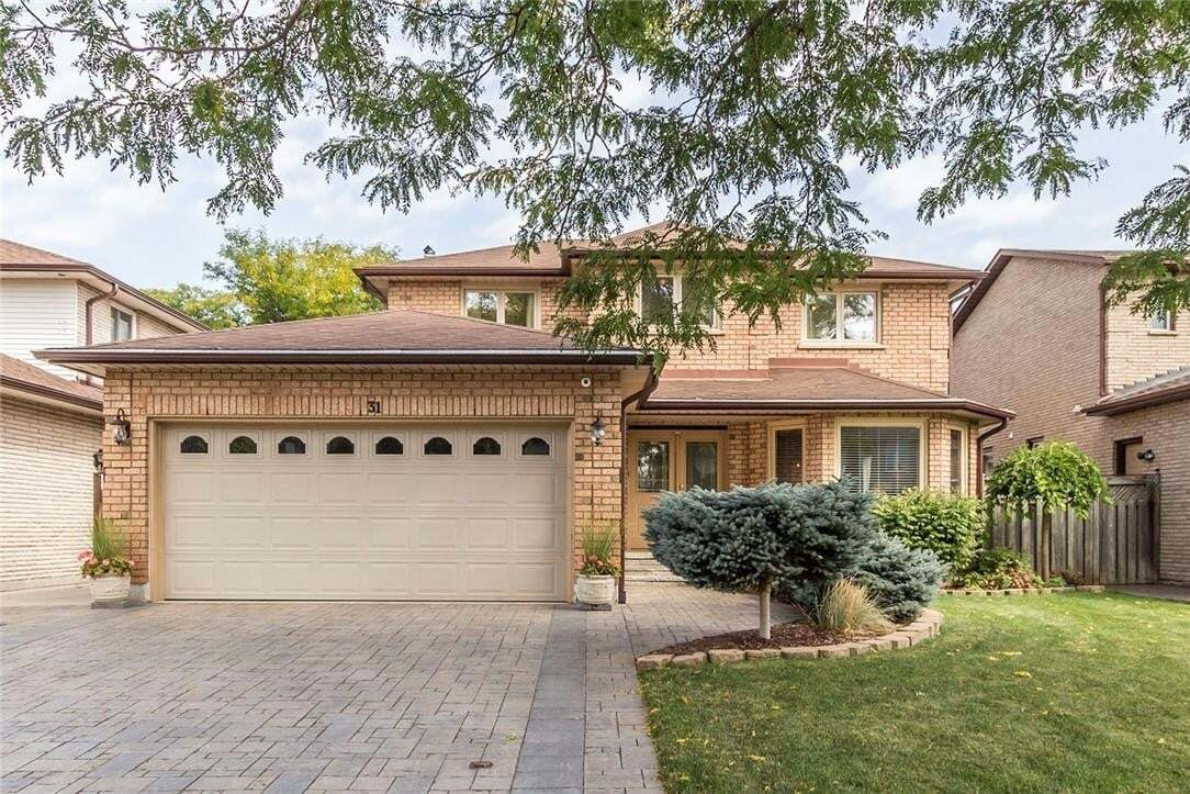 House for sale at 31 Candor Cres Stoney Creek Ontario - MLS: H4088383
