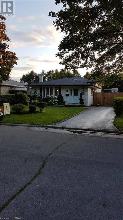 House for sale at 31 Cartier Rd London Ontario - MLS: 217577