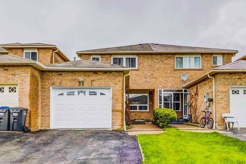 Townhouse for sale at 31 Ebby Ave Brampton Ontario - MLS: W4449102