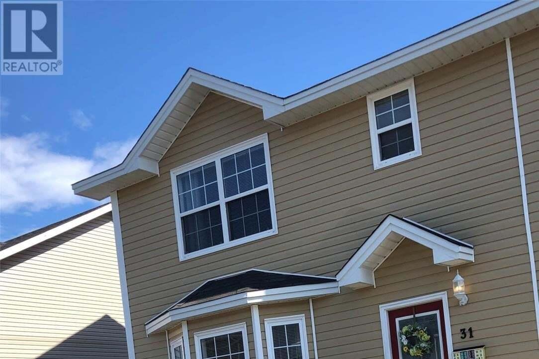 House for sale at 31 Faulkner St St. John's Newfoundland - MLS: 1214274