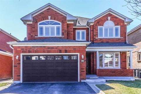 House for sale at 31 Foxtail Rd Brampton Ontario - MLS: W4419732