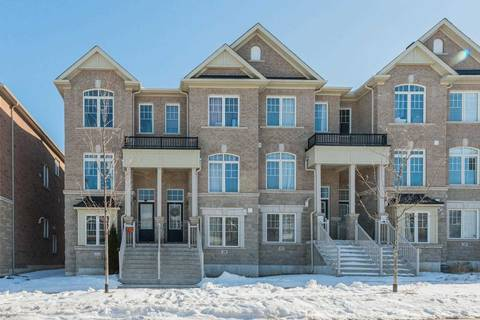 Townhouse for sale at 31 Gadani Dr Markham Ontario - MLS: N4698071
