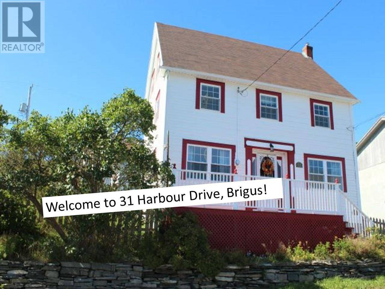 House for sale at 31 Harbour Dr Brigus Newfoundland - MLS: 1180669