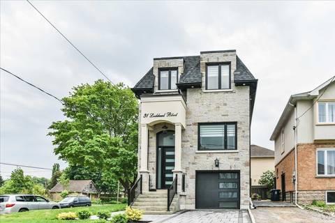 House for sale at 31 Lockheed Blvd Toronto Ontario - MLS: W4525947