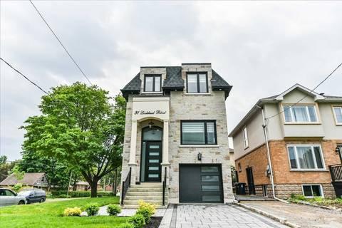 House for sale at 31 Lockheed Blvd Toronto Ontario - MLS: W4656549