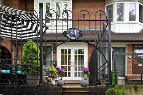 Townhouse for sale at 31 Longboat Ave Toronto Ontario - MLS: C4481278