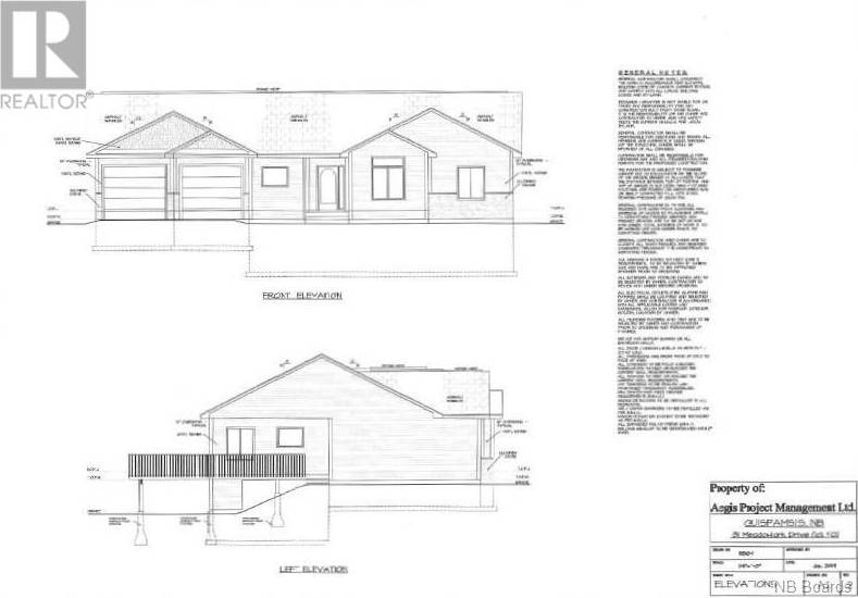 House for sale at 31 Meadowlark Dr Quispamsis New Brunswick - MLS: NB038603