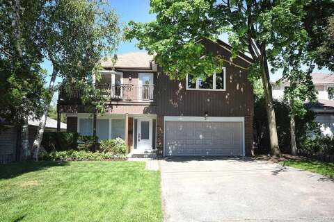 House for sale at 31 Oldborough Circ Toronto Ontario - MLS: C4959454