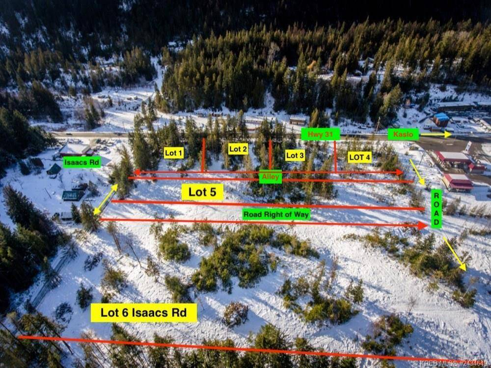 Home for sale at Parcel D Highway 31 Hy Unit 31 Kaslo British Columbia - MLS: 2451217