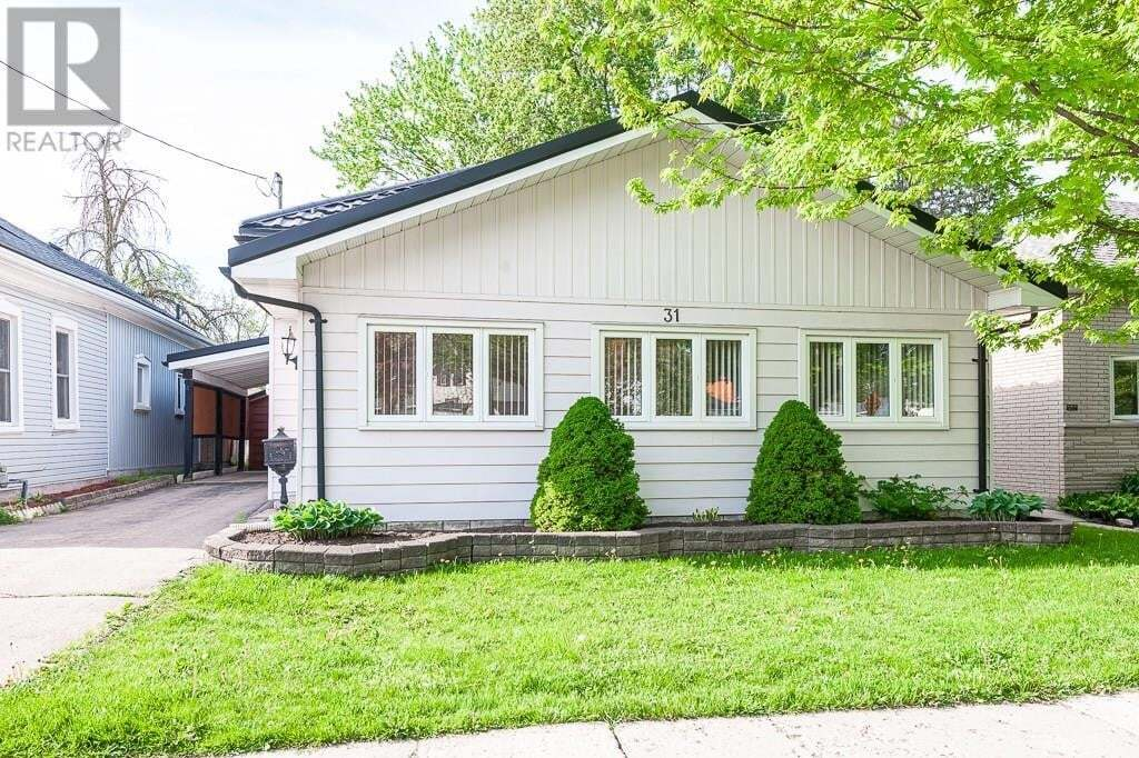 House for sale at 31 Railway Ave Stratford Ontario - MLS: 30808336