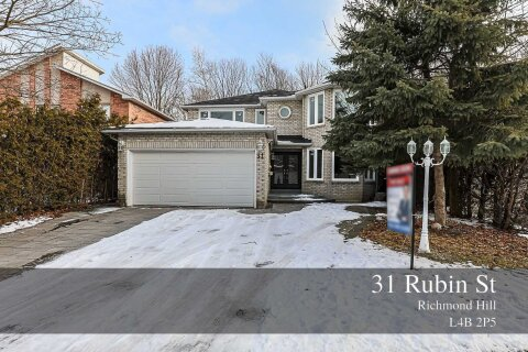 House for sale at 31 Rubin St Richmond Hill Ontario - MLS: N5081816